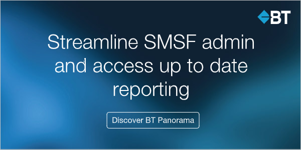 BT Panorama - the smarter way to manage your SMSF