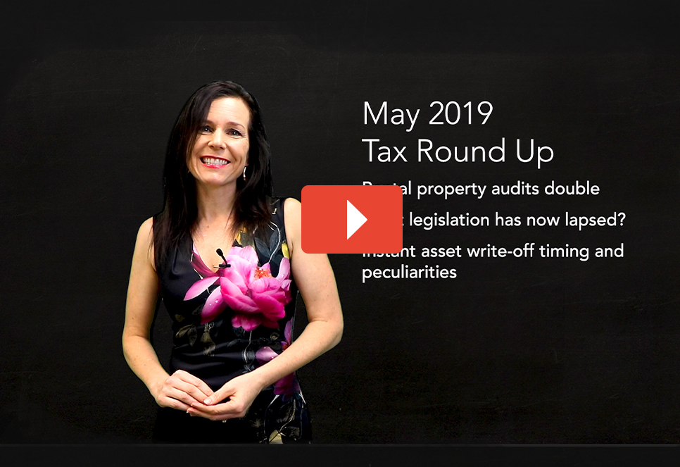May 2019 Tax Round Up