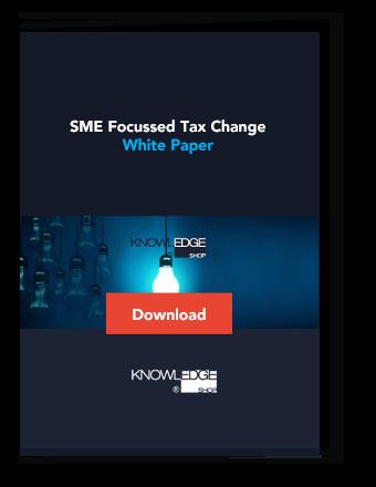 Whitepaper SME Focussed Tax Change