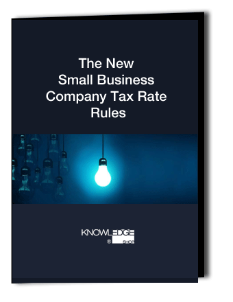 White Paper The New Small Business Company Tax Rate Rules