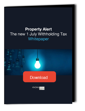 Withholding Tax Alert - download the whitepaper